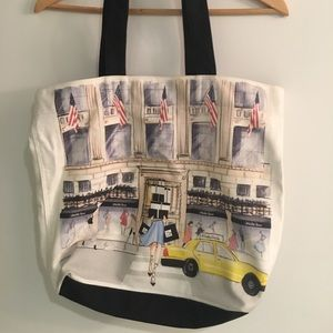 Saks Fifth Avenue Storefront Tote